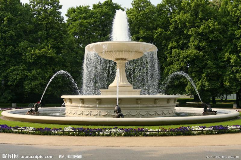 西安喷泉景观施工